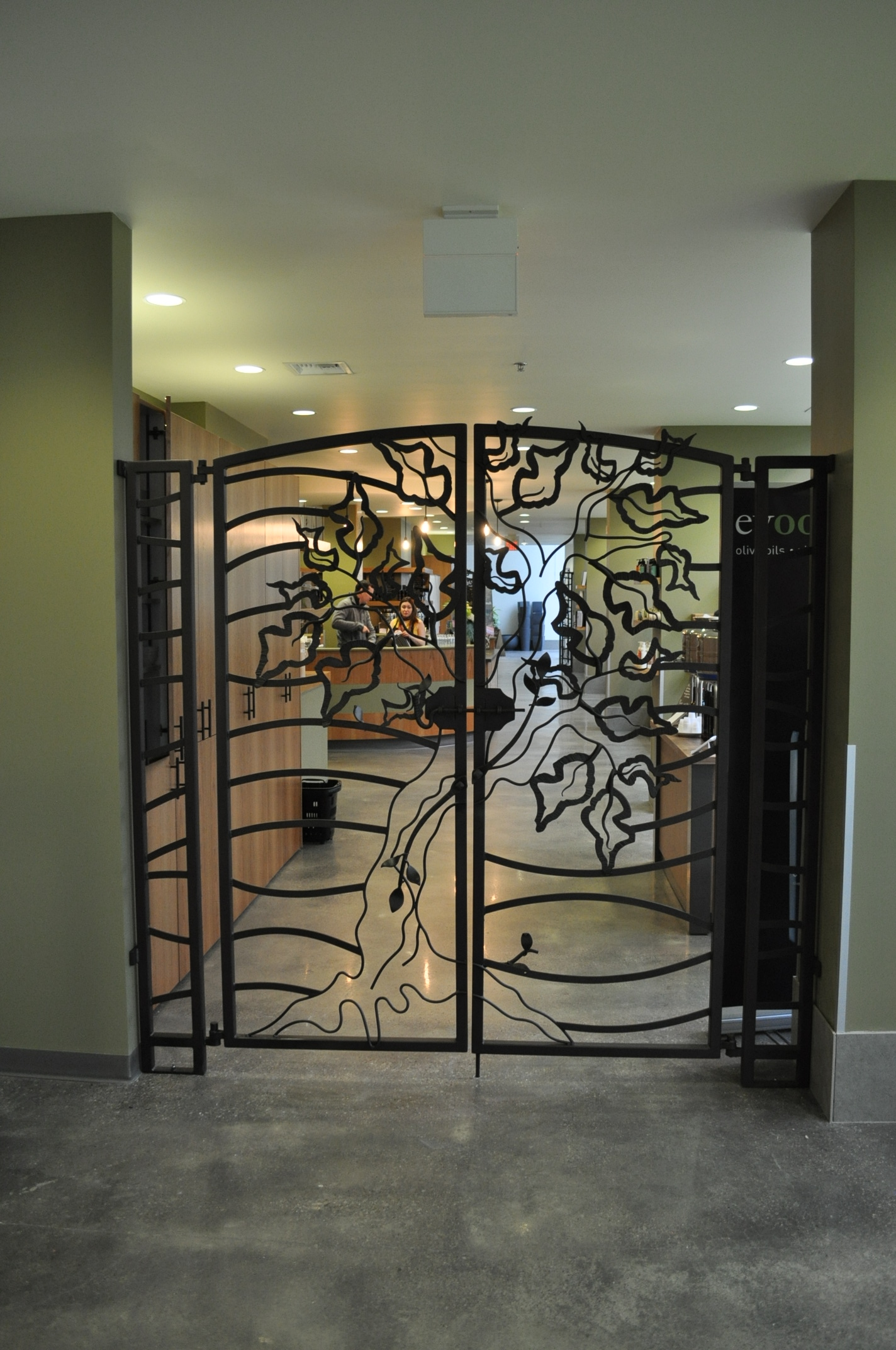 Wrought Iron Gates Hand Forged Gates Blacksmith